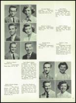 1954 Boyertown Area High School Yearbook Page 34 & 35