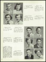 1954 Boyertown Area High School Yearbook Page 36 & 37
