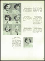 1954 Boyertown Area High School Yearbook Page 38 & 39