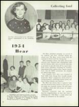 1954 Boyertown Area High School Yearbook Page 66 & 67