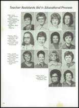 1974 Spring High School Yearbook Page 222 & 223