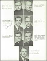 1961 St. Edward High School Yearbook Page 26 & 27