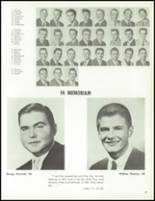 1961 St. Edward High School Yearbook Page 70 & 71