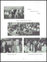 1962 Akron High School Yearbook Page 36 & 37