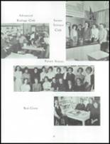 1962 Akron High School Yearbook Page 42 & 43