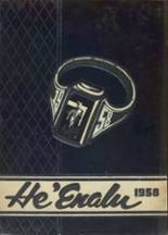 1958 Yearbook Kailua High School