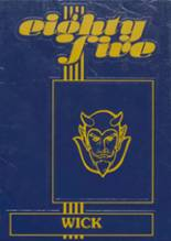1985 Yearbook Wickliffe High School