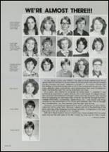 1982 East Davidson High School Yearbook Page 60 & 61