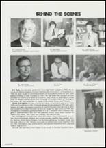 1982 East Davidson High School Yearbook Page 106 & 107