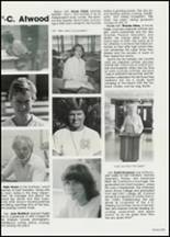 1982 East Davidson High School Yearbook Page 108 & 109