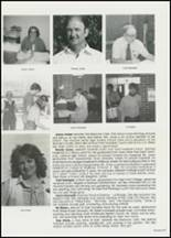 1982 East Davidson High School Yearbook Page 110 & 111