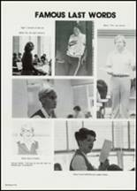 1982 East Davidson High School Yearbook Page 120 & 121