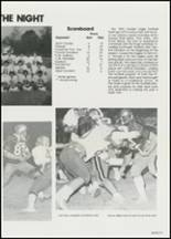 1982 East Davidson High School Yearbook Page 124 & 125