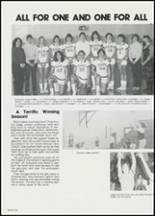 1982 East Davidson High School Yearbook Page 130 & 131