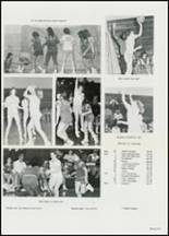 1982 East Davidson High School Yearbook Page 134 & 135