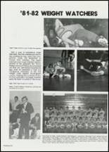 1982 East Davidson High School Yearbook Page 138 & 139