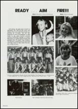 1982 East Davidson High School Yearbook Page 154 & 155