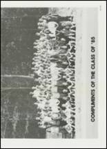 1982 East Davidson High School Yearbook Page 184 & 185