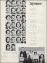 1952 Taylor County High School Yearbook Page 20 & 21
