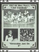 1988 James Whitcomb Riley High School Yearbook Page 170 & 171