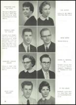 1960 Manchester High School Yearbook Page 24 & 25