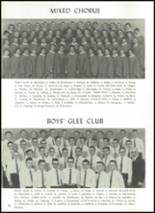 1960 Manchester High School Yearbook Page 56 & 57
