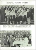 1960 Manchester High School Yearbook Page 74 & 75