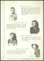 1950 Ruggles-Troy High School Yearbook Page 20 & 21