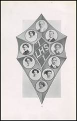 1911 Lincoln High School Yearbook Page 22 & 23