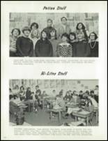 1966 Canby Union High School Yearbook Page 78 & 79