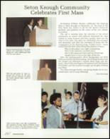 1989 Seton Keough High School Yearbook Page 16 & 17