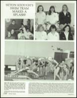 1989 Seton Keough High School Yearbook Page 160 & 161