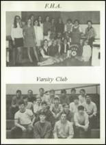 1970 Romulus Central High School Yearbook Page 106 & 107