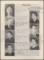 1936 Bowie High School Yearbook Page 16 & 17