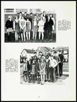 1969 Westfield High School Yearbook Page 112 & 113
