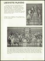 1966 Lafayette High School Yearbook Page 128 & 129