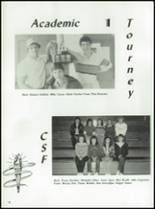 1985 Fall River High School Yearbook Page 84 & 85