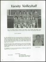 1985 Fall River High School Yearbook Page 90 & 91
