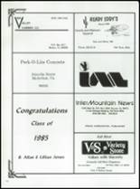 1985 Fall River High School Yearbook Page 126 & 127