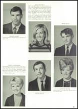 1968 Grand Prairie High School Yearbook Page 58 & 59