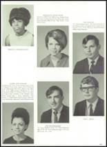 1968 Grand Prairie High School Yearbook Page 112 & 113