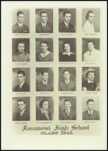 1942 Rosamond Community High School Yearbook Page 22 & 23