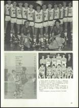 1974 West Noble High School Yearbook Page 36 & 37