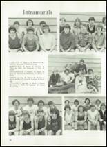1974 West Noble High School Yearbook Page 38 & 39