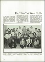 1974 West Noble High School Yearbook Page 78 & 79