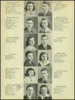 1942 Normal Community High School Yearbook Page 16 & 17