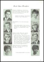 1968 Lowell High School Yearbook Page 20 & 21