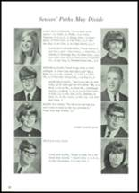 1968 Lowell High School Yearbook Page 24 & 25