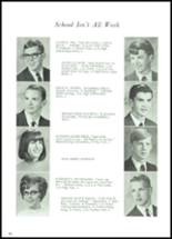 1968 Lowell High School Yearbook Page 28 & 29