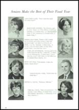 1968 Lowell High School Yearbook Page 32 & 33